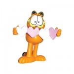 Figurine Garfield coeur