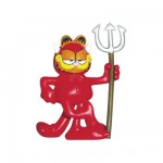 Figurine Garfield diable