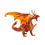 Figurine Grand dragon de  feu