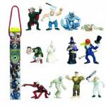 Figurines Horreur : Tubo de 12 figurines