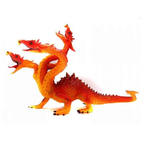 Figurine Hydre couleur de feu - Plastoy-60444