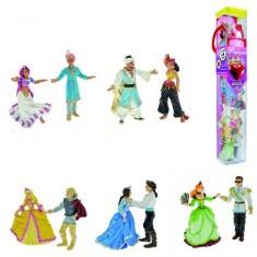 Figurines Il était une fois : Tubo de 10 figurines Le bal des princesses