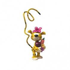Figurine Le Bébé Marsupilami tâcheté Bibi