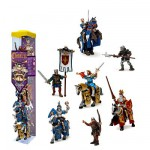 Figurine Chevaliers : Tubo de 11 figurines