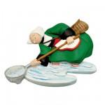 Magnet Bécassine : Bécassine pêche à pied
