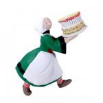 Magnet Bécassine : Gâteau d'anniversaire