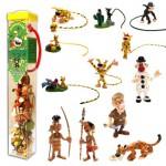 Figurines Marsupilami : Tubo de 12 figurines