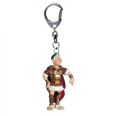 Porte-clés Astérix et Obélix : Jules César - Plastoy-60412