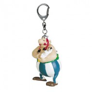 Porte-clés Astérix et Obélix : Obélix et Idéfix