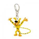 Porte-clés mini Marsupilami : Marsupilami heureux