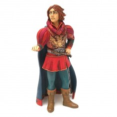 Figurine Prince charmant en habit rouge