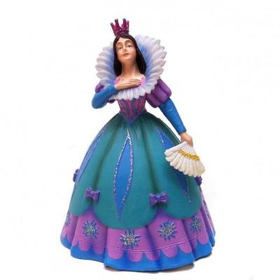 Figurine Princesse à l'éventail : Robe bleue - Plastoy-61360