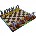 Schtroumpfs - Jeu d'échecs Schtroumpfs