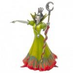 Figurine Sorcière en robe verte