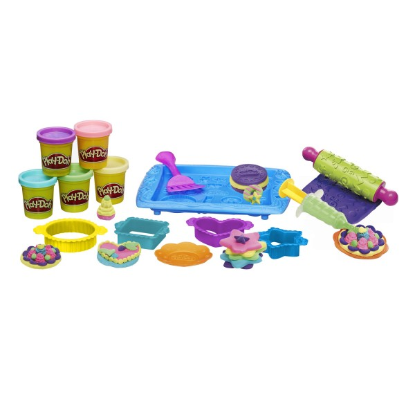 p te modeler play doh les cookies jeux et jouets play doh avenue des jeux. Black Bedroom Furniture Sets. Home Design Ideas