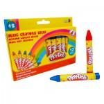 Crayons Play-Doh : 12 maxi crayons gras
