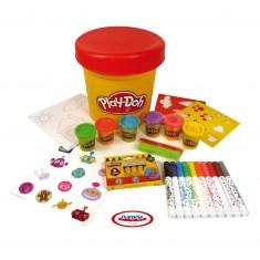 Maxi pot créatif Play-Doh : 60 pièces