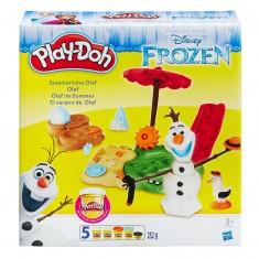 Pâte à modeler PlayDoh : La Reine des Neiges (Frozen) : Olaf en été