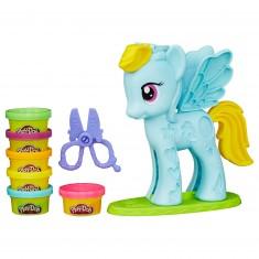 Pâte à modeler PlayDoh : Mon petit poney : Chevelure de rêve
