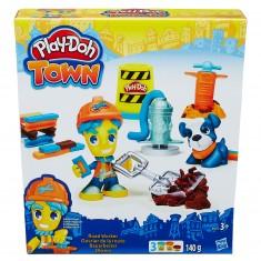 Pâte à modeler PlayDoh Town : Ouvrier de la route