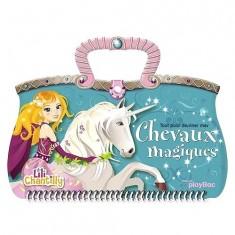 Carnet créatif Lili Chantilly : Tout pour dessiner mes chevaux magiques