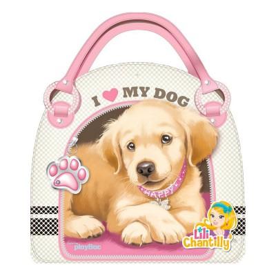 Carnet créatif Lili Chantilly : Tout pour dessiner mes chiens - PlayBac-124459996