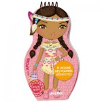 Carnet créatif Minimiki : Je dessine mes poupées amérindiennes avec Aponi