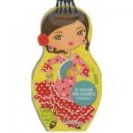 Carnet créatif Minimiki : Je dessine mes poupées espagnoles avec Ines