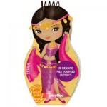 Carnet créatif Minimiki : Je dessine mes poupées orientales avec Zeina