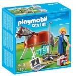 Playmobil 5533 : Vétérinaire avec cheval et appareil de radiographie