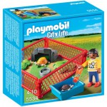 Playmobil 5534 - City Life - Enfant avec enclos de tortue