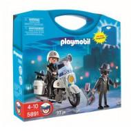 Playmobil 5891 : Valisette policier et voleur