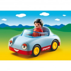 Playmobil 6790 - 1.2.3 - Voiture cabriolet