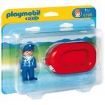 Playmobil 6795 - 1.2.3 - Vacancier avec bateau