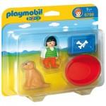 Playmobil 6796 - 1.2.3 - Enfant avec chien