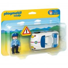 Playmobil 6797 - 1.2.3 - Policier et voiture