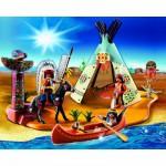 Playmobil 4012 : SuperSet Campement des Indiens