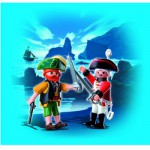 Playmobil 4127 : Playmobil Duo Pirate et soldat anglais