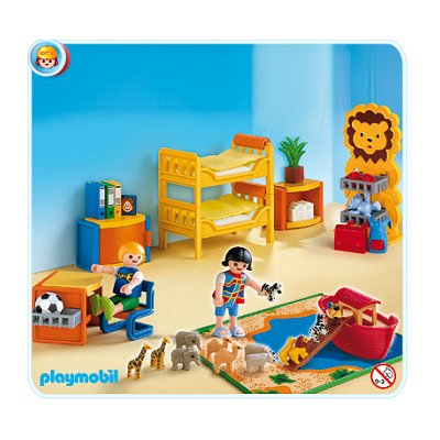 Playmobil 4287 chambre des enfants playmobil 4287 for Playmobil kinderzimmer 4287