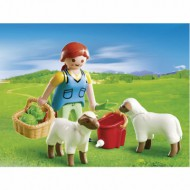 Playmobil 4765 - Agricultrice avec moutons