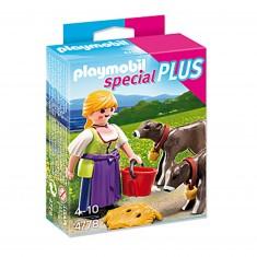 Playmobil 4778 : Eleveuse de veaux