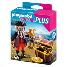 Playmobil 4783 : Flibustier avec trésor royal