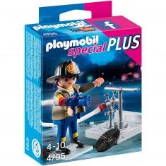 Playmobil 4795 : Spécial Plus : Pompier avec bouche d'incendie