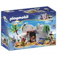 Playmobil 4797:  Super 4 : Caverne des pirates