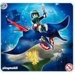 Playmobil 4801 : Pirate fantôme avec raie