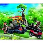 Playmobil 4847 : Détecteur de métaux avec chasseurs de trésors