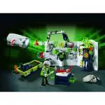 Playmobil 4880 : Laboratoire du Robo-Gangster et lampe multifonctions