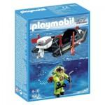 Playmobil 4910 : Bateau pneumatique avec scaphandrier