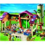 Playmobil 5119 : Ferme moderne avec silo
