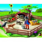Playmobil 5122 : Enclos et éleveur de cochons